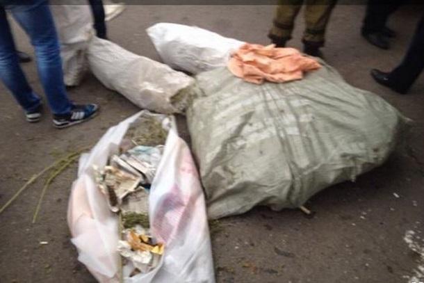 ФОТО: Воинов сил Иначе приостановили с 12 г конопли