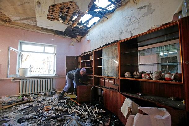 Репортаж: Сокрушенный Донецк