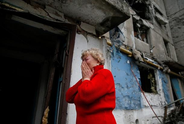 ФОТО: Артобстрел боевиками Енакиево