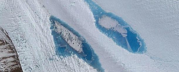 Фото: Специалисты взволнованы возникновением миллионов морей в Антарктиде