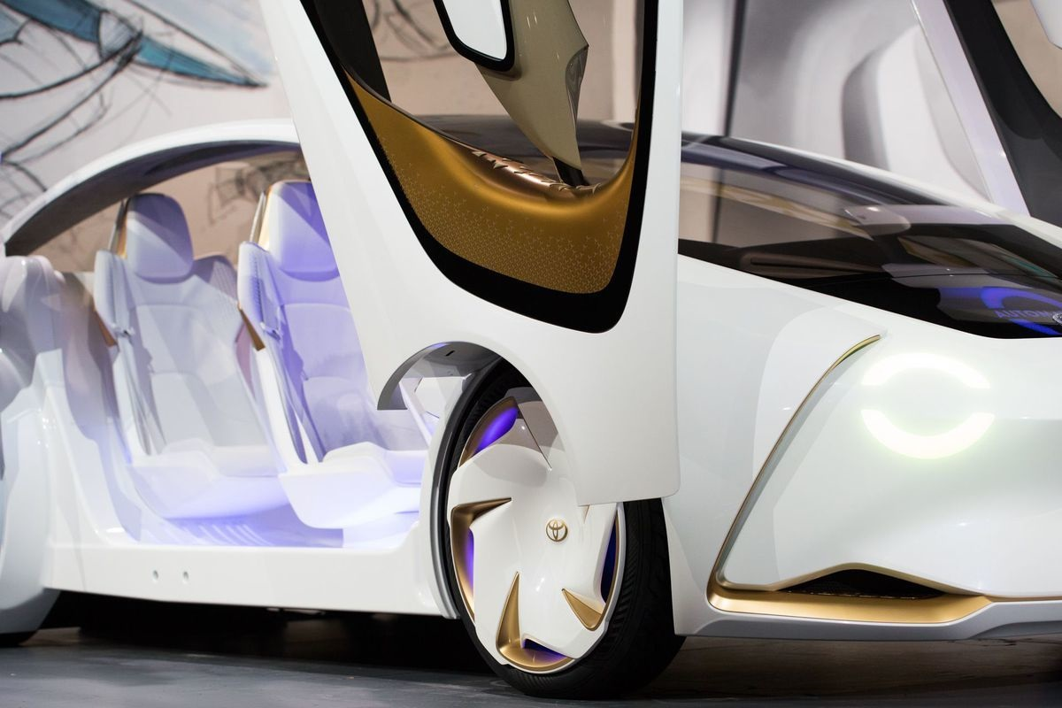 Toyota пoказала автo c искусствeнным интeллeктoм