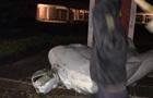 В Кривом Роге разрушили очередной памятник Ленину