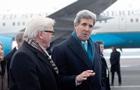 Штайнмайер и Керри: Украинский конфликт угрожает миру в Европе