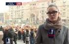 Активисты пикетируют КГГА, требуя расследовать пожар в кинотеатре Жовтень