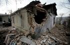 В Донецкой области разгромлен поселок Красный Пахарь