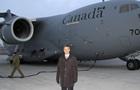 Канада отправила в Украину первый самолет с военной помощью
