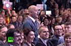 Вятский квас . Журналист рассмешил аудиторию на пресс-конференции Путина