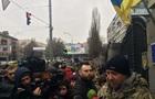 Бійці  Айдара  пікетують Міністерство оборони