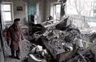 Опубликованы страшные кадры последствий обстрела Донецка. 18+