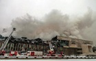 В Москве почти 15 часов горит  лучшая в России  библиотека