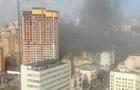 В центре Киева горит офисный центр