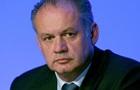Президент Словакии против поставок Украине оружия ЕС и НАТО