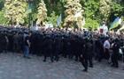Беспорядки под Радой: онлайн-трансляция
