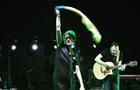 Земфіра розгорнула на сцені в Тбілісі український прапор