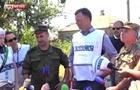 Российский генерал представился на украинском языке в Широкино