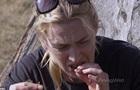 Кейт Уинслет попробовала червей  в диких условиях  с Беаром Гриллсом
