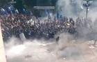 Появилось видео момента взрыва под Радой