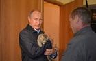 Путин с котом стал хитом рунета