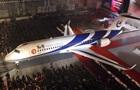 В Китае представлен новый пассажирский самолет ARJ-21