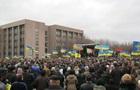 Митингующие прорвались в горсовет Кривого Рога