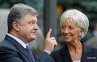 Порошенко разьяснил Лагард ситуацию в Украине
