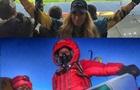 Перша українка, яка підкорила Еверест, виявилася прихильницею Динамо