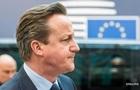 Кэмерон сегодня встретится с главами ЕС