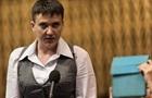 Савченко о диалоге с ЛДНР: Надо просить прощения