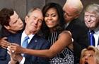 Обійми Мішель Обами з Бушем висміяли у соцмережах