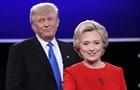 Трамп оспорил победу Клинтон в дебатах
