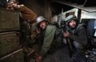 В Москве облили краской фотографии с войны на Донбассе