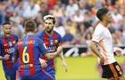 Барселона сильнее Валенсии