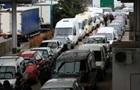 Збільшилися черги з авто на кордоні з Польщею