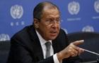 Лавров: Тема санкцій проти Росії через Сирію -  непристойна