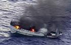 В Тихом океане горит судно с 52 людьми на борту