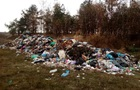 На Житомирщині біля траси скинули кілька тонн сміття