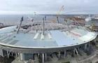 Нова арена Зеніту пішла під воду