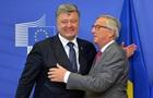 Порошенко обговорив з Юнкером саміт Україна-ЄС