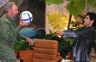 Марадона прибыл на похороны Кастро