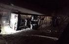 Под Днепром перевернулся автобус, есть погибшая