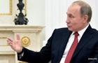 Путин хочет  успешно завершить карьеру