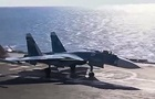 У Міноборони РФ спростували повідомлення про причини аварії Су-33