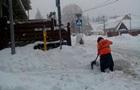У Сочі випала рекордна кількість снігу