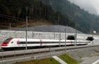 В Швейцарии запустили поезд по самому в мире длинному туннелю