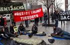 Участникам антитрамповских митингов платят - СМИ