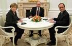 Путин, Меркель и Олланд обсудили конфликт в Украине