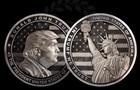 В РФ выпустили килограммовые монеты в честь Трампа