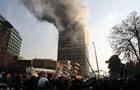 В Ірані під час обвалення висотки загинули 30 пожежників