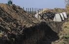 Прикордонники заперечують призупинення будівництва  Стіни