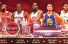 НБА. Лучшие моменты стартового состава Запада на МВЗ